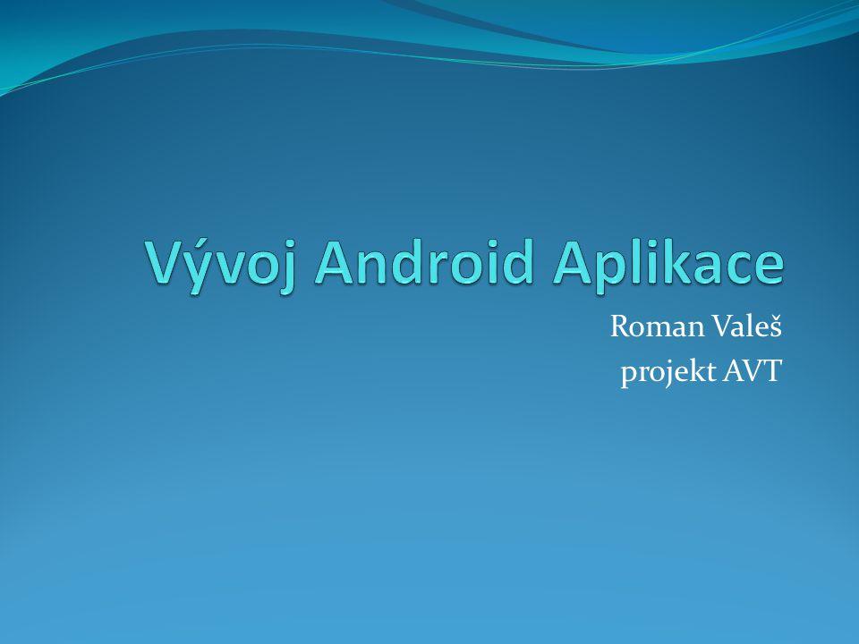 Roman Valeš projekt AVT
