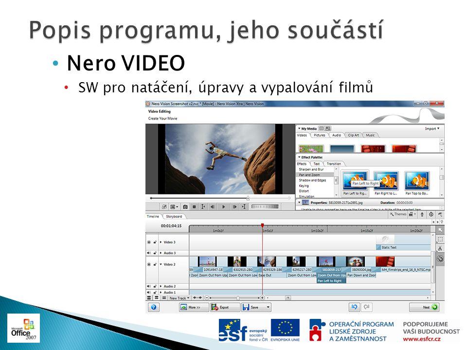 New Nero Media Browser Integrovaný boční panel, který umožňuje pomocí jednoho kliknutí otevřít všechny vaše uspořádané fotky, hudbu a videa v aplikaci, ve které právě pracujete.