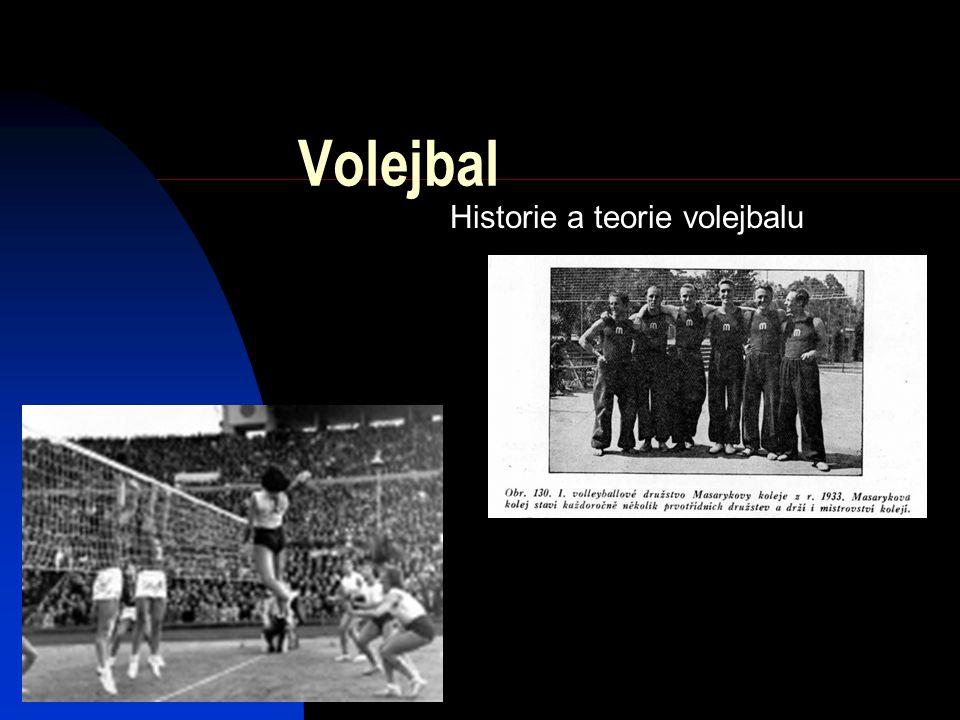 Volejbal Historie a teorie volejbalu