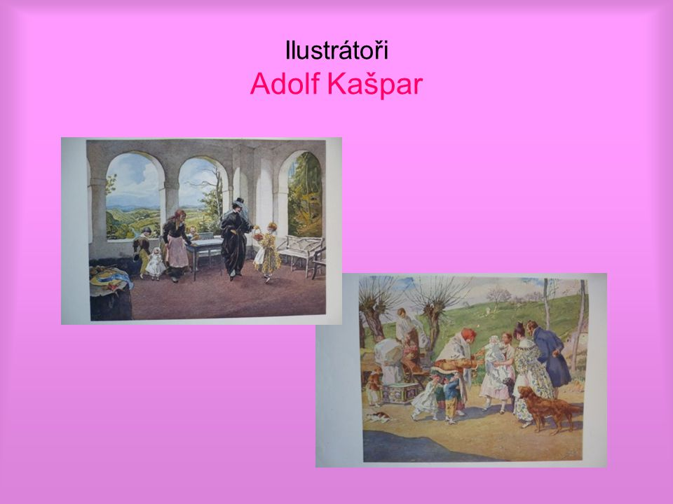 Ilustrátoři Adolf Kašpar