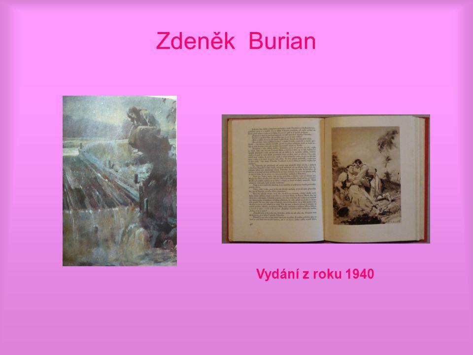 Zdeněk Burian Vydání z roku 1940