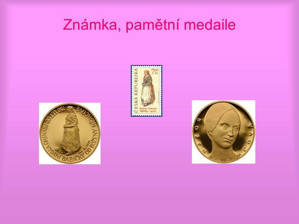 Známka, pamětní medaile