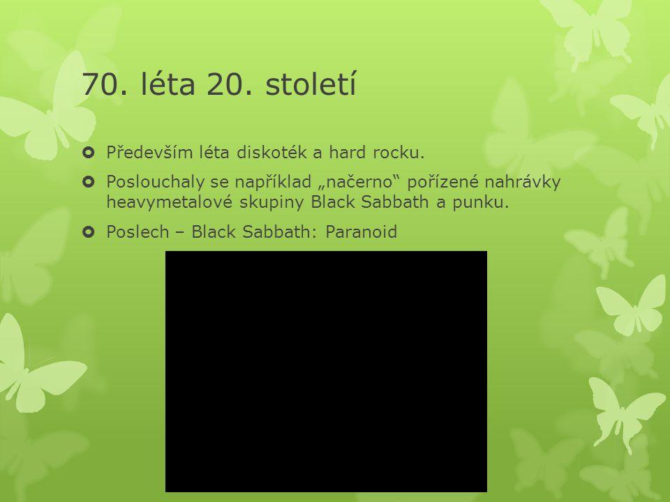 70.a 80. léta v české hudbě  Pokračovala big beatem (Olympic).