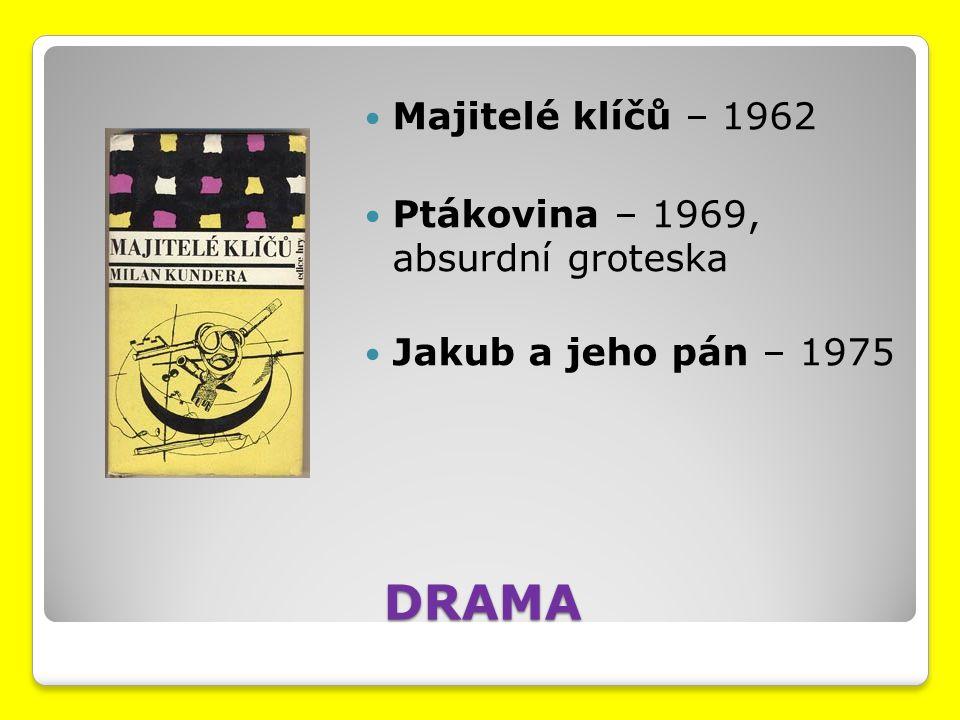 Teoretická práce Umění románu – 1960, na materiálu V.