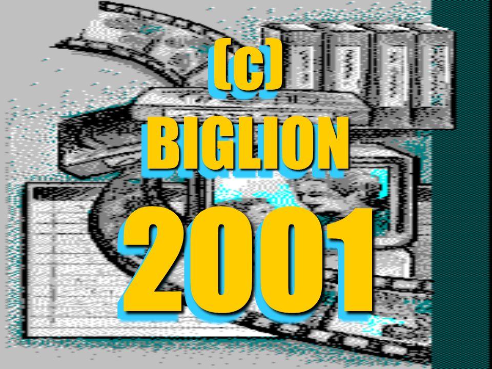 (c) BIGLION 2001 (c) BIGLION 2001