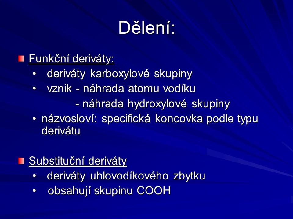"""názvosloví Systematický název: název základního uhlovodíku + přípona – oyl + (di, tri, …) + název + přípona – oyl + (di, tri, …) + název halogenu + """"-id halogenu + """"-id Př."""