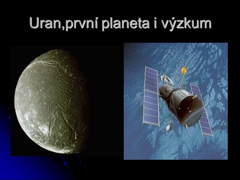 Uran,první planeta i výzkum