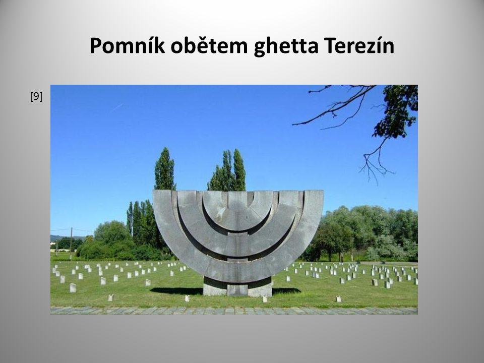 Pomník obětem ghetta Terezín [9]