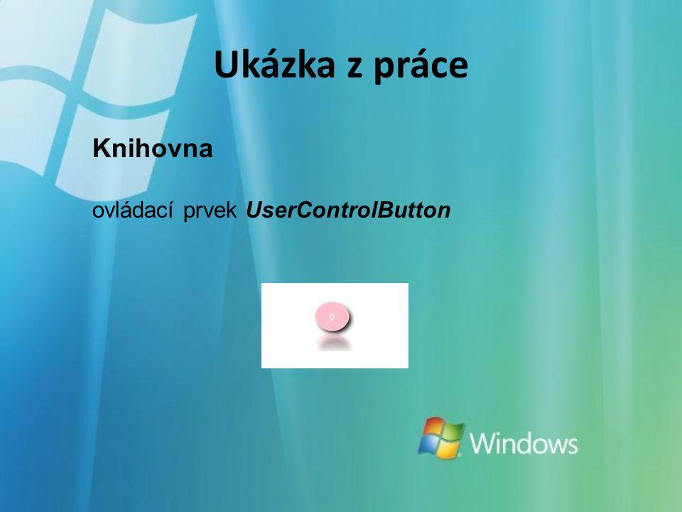 Knihovna ovládací prvek UserControlButton