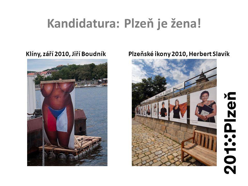 Kandidatura: Plzeň je žena! Klíny, září 2010, Jiří BoudníkPlzeňské ikony 2010, Herbert Slavík