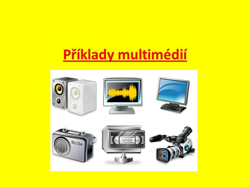 Příklady multimédií