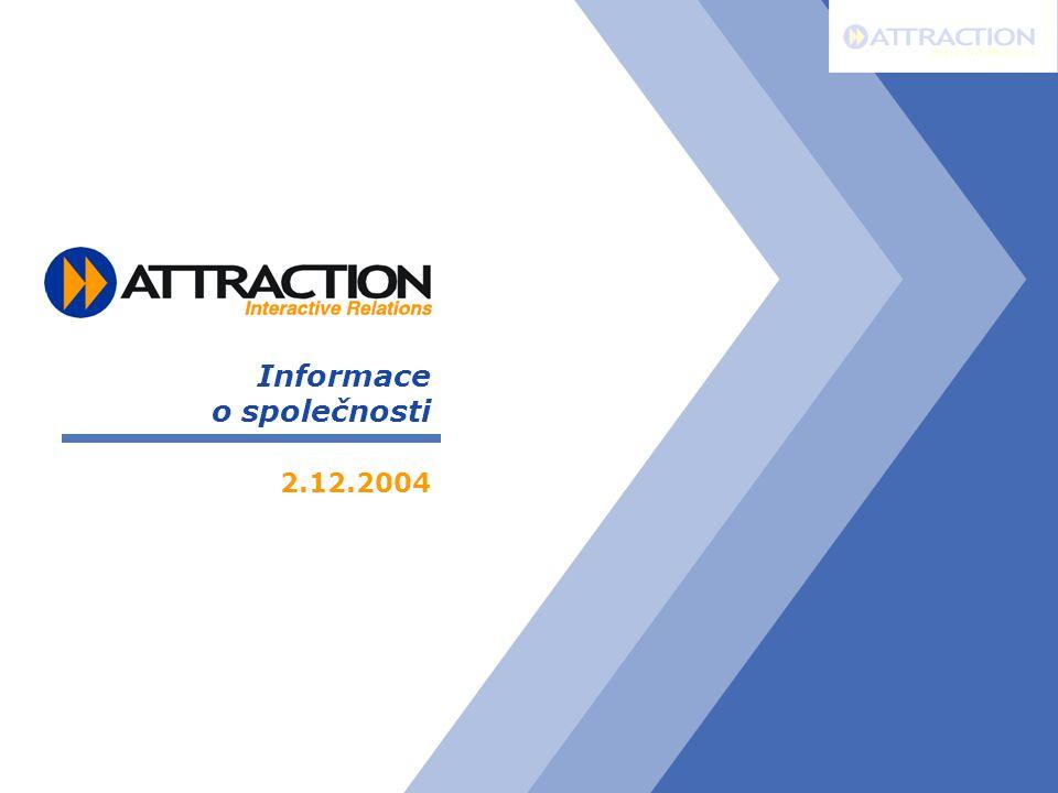 Informace o společnosti 2.12.2004