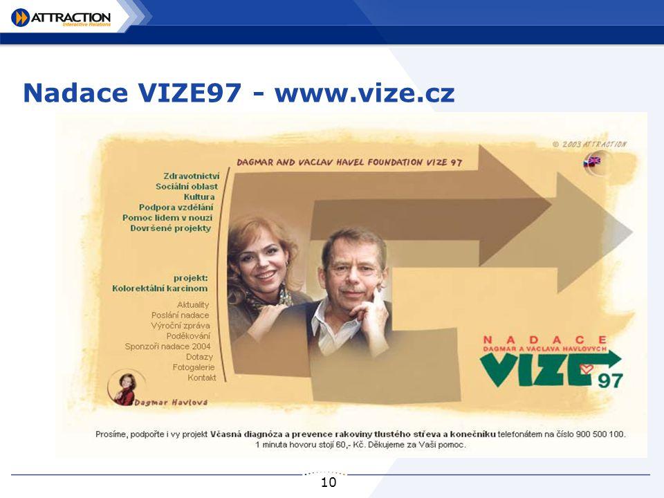 10 Nadace VIZE97 - www.vize.cz