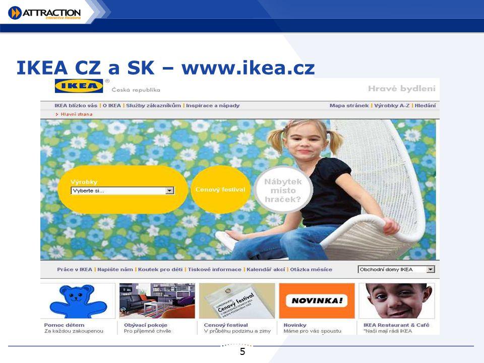 5 IKEA CZ a SK – www.ikea.cz