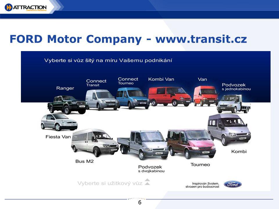 6 FORD Motor Company - www.transit.cz