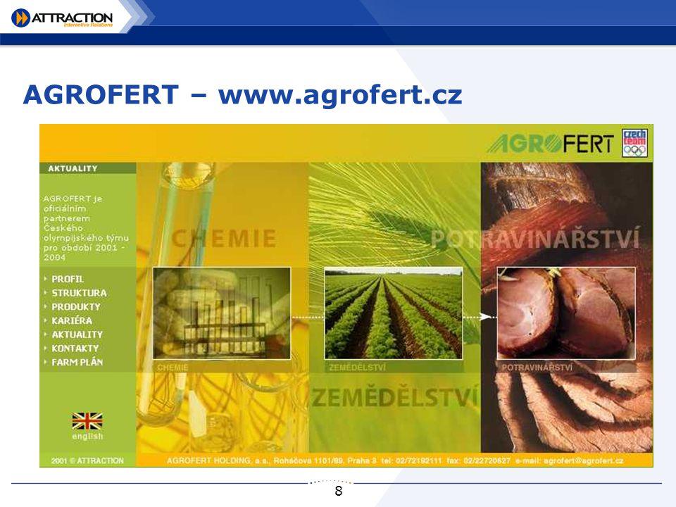 8 AGROFERT – www.agrofert.cz