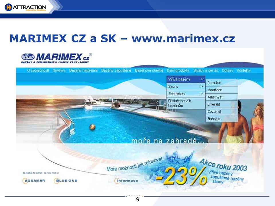 9 MARIMEX CZ a SK – www.marimex.cz