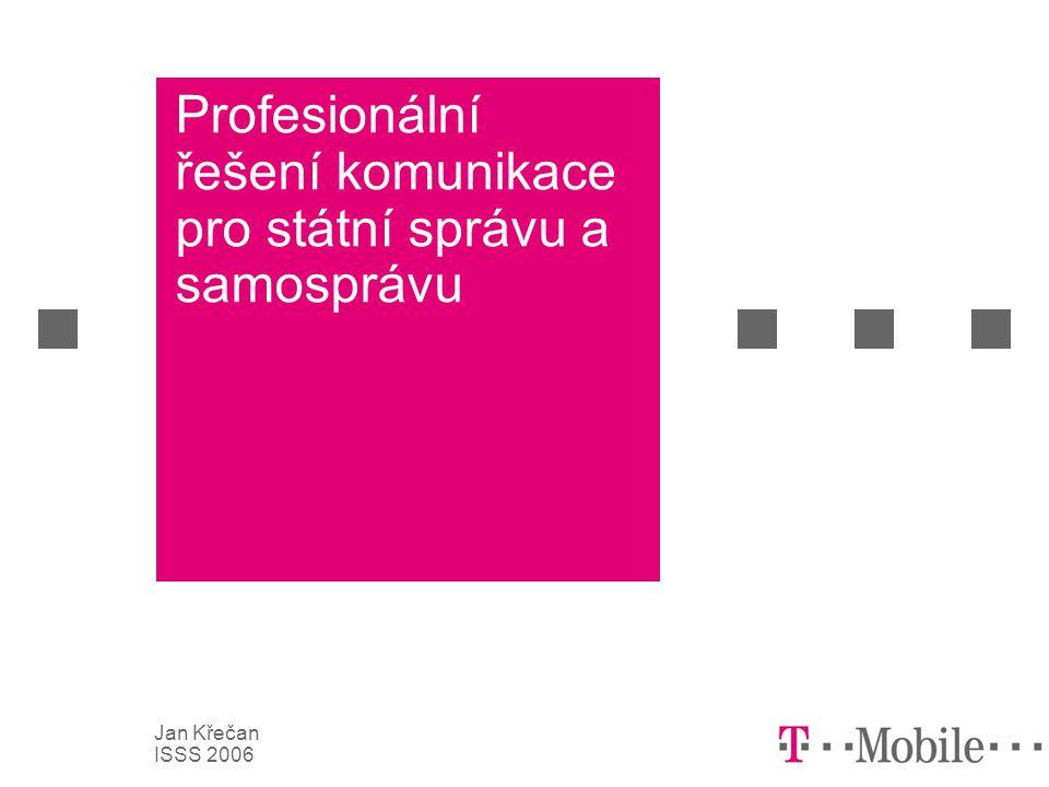 2 Jan Křečan ISSS 2006 Obsah  Novinky v síti T-Mobile  SMS komunikace  Diskuze