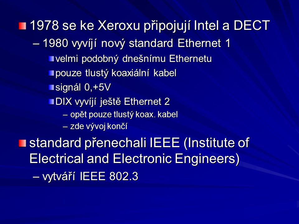 Bezdrátové spoje radiová pojítka Wi-Fi –802.11b – 2,4 GHz –11 MB/s –100 m, 400 m, 24 km satelitní spoje - Teledesic