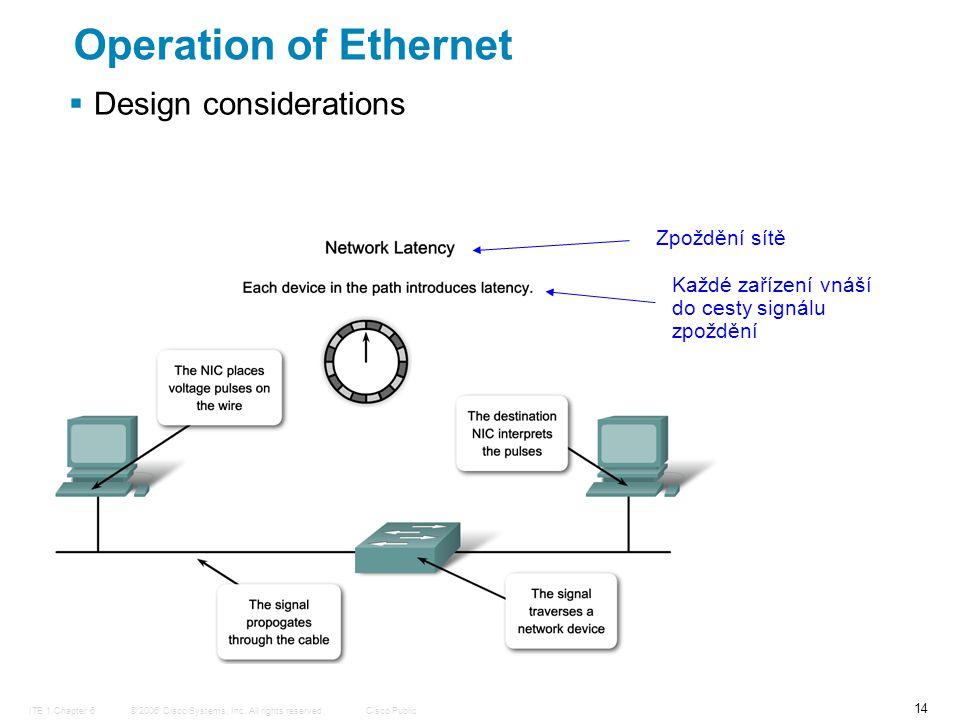 © 2006 Cisco Systems, Inc.