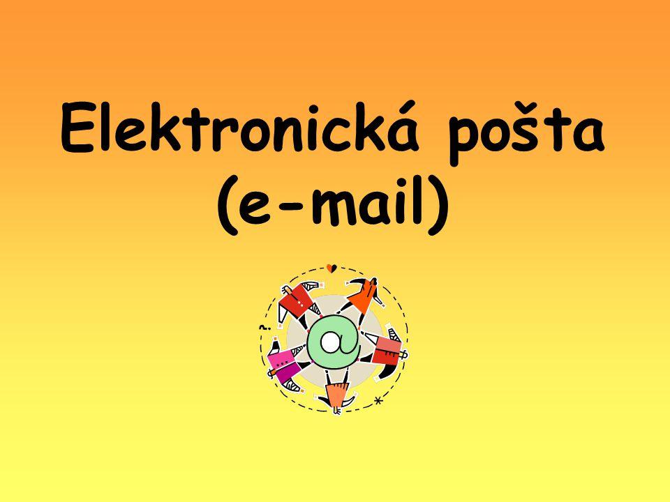 Elektronická pošta (e-mail)