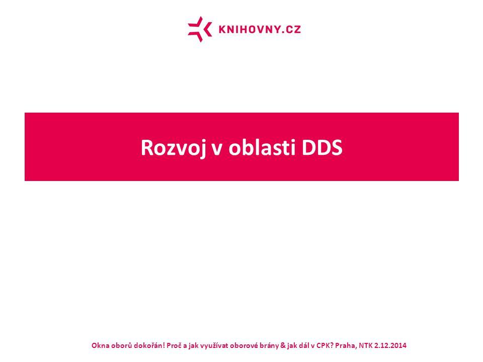 Rozvoj v oblasti DDS Okna oborů dokořán! Proč a jak využívat oborové brány & jak dál v CPK? Praha, NTK 2.12.2014
