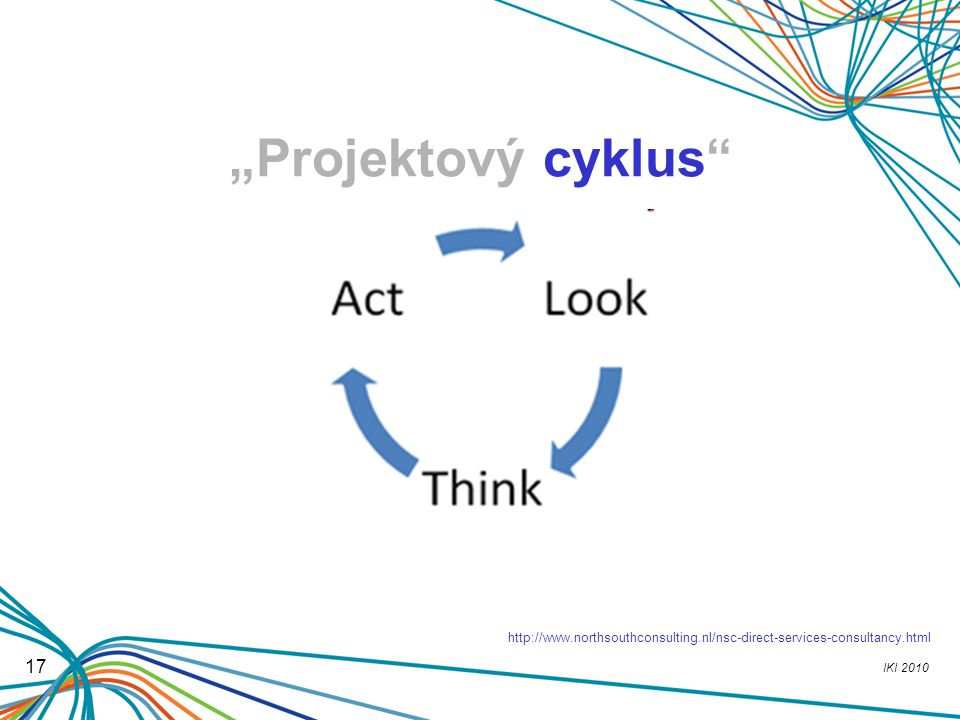 """IKI 2010 17 """"Projektový cyklus"""" ? http://www.northsouthconsulting.nl/nsc-direct-services-consultancy.html"""