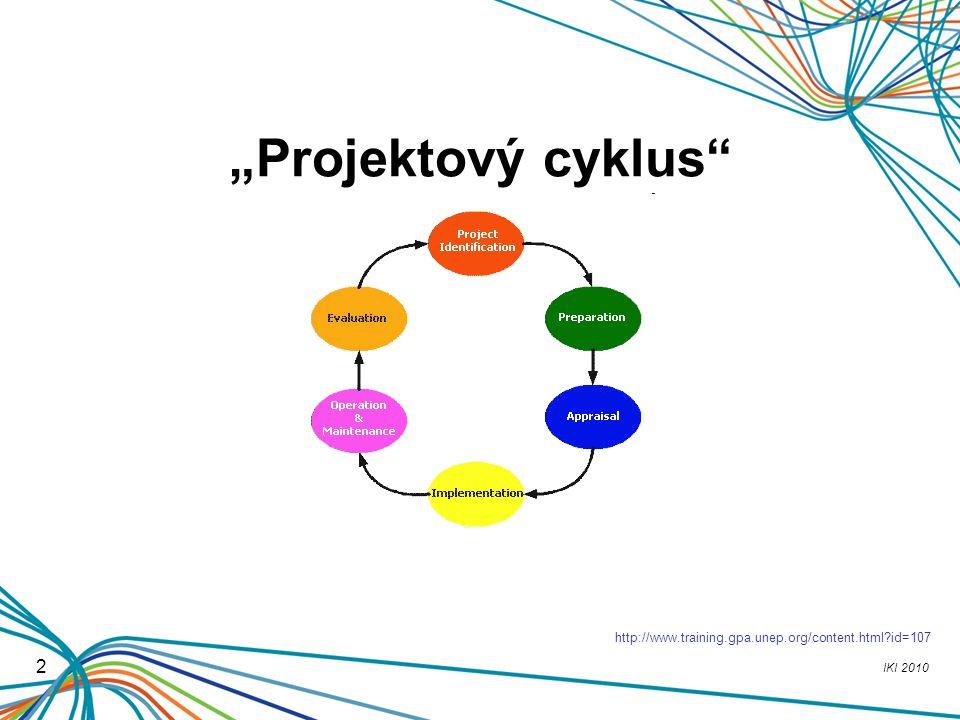 "IKI 2010 2 ""Projektový cyklus"" http://www.training.gpa.unep.org/content.html?id=107"