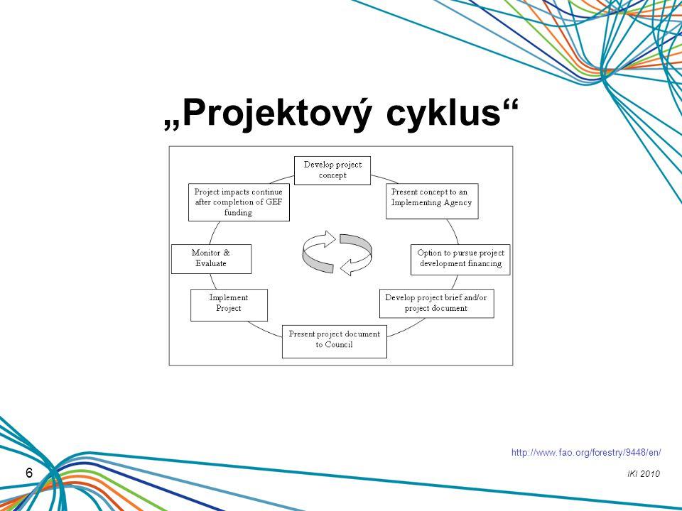 """IKI 2010 6 """"Projektový cyklus"""" http://www.fao.org/forestry/9448/en/"""