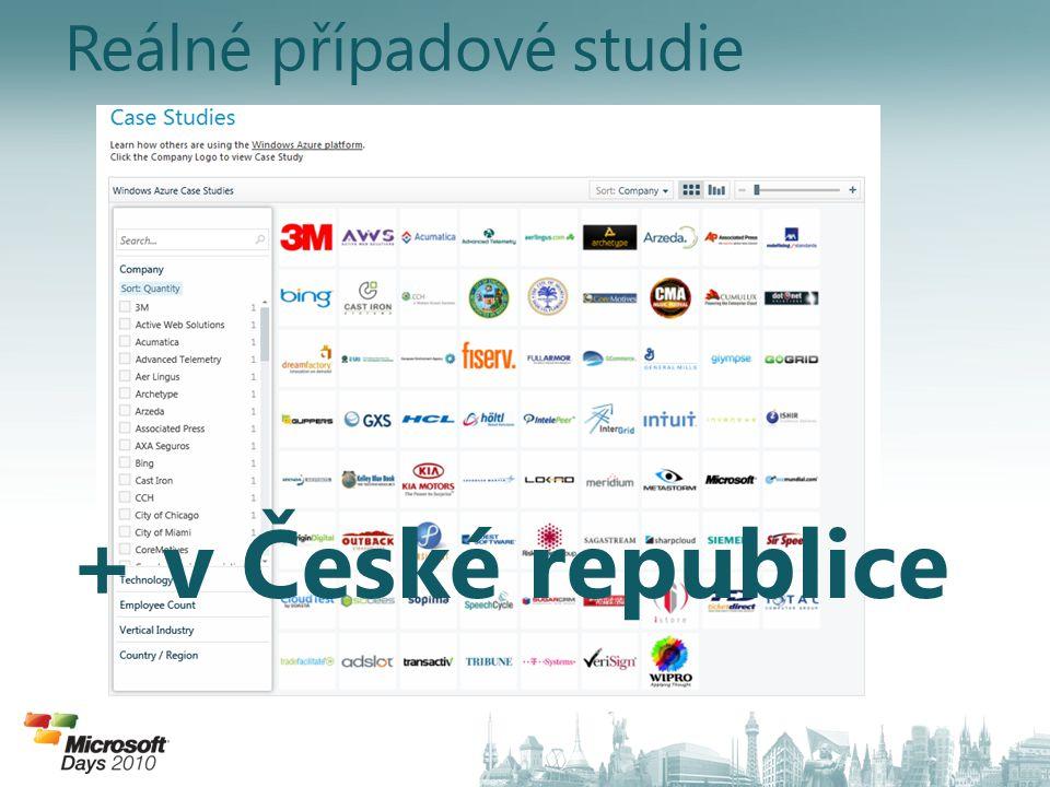 Reálné případové studie + v České republice