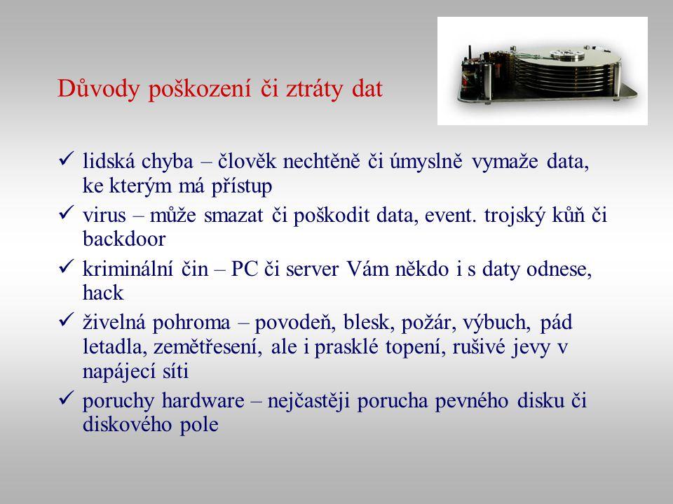 Použití šifrování v praxi SSL (Secure Sockets Layer) – vrstva mezi aplikační vrstvou a protokolem TCP; asymetrická šifra, klíče se generují automaticky, pro přenos se použije symetrický algoritmus PGP (www.pgp.cz)www.pgp.cz Zástupci konkrétních produktů: program TrueCrypt (http://www.truecrypt.org) - on-line kvalitní šifrování dat na diskuhttp://www.truecrypt.org Keypass password safe – program na bezpečné ukládání hesel