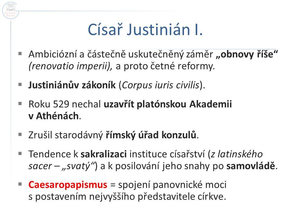 Císař Justinián I.