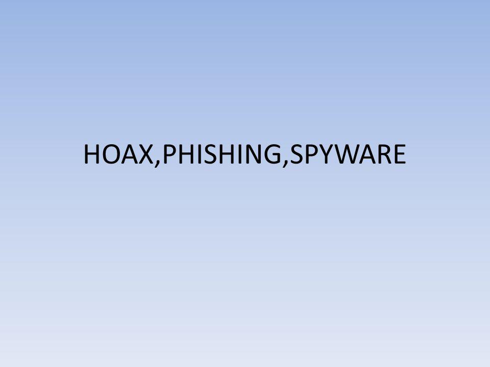 HOAX Hoax označuje podvod,mystifikaci nebo také žertovnou klamnou zprávu Zpráva uživatele varuje před virem,prosí o pomoc,informuje o nebezpečí,snaží se pobavit apod.