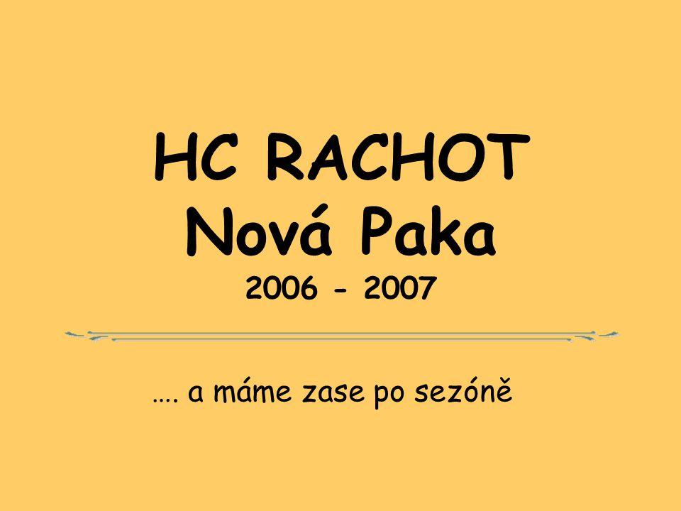 GALAVEČER NHL vyhlášení výsledků Pivovar Nová Paka 10. března 2007