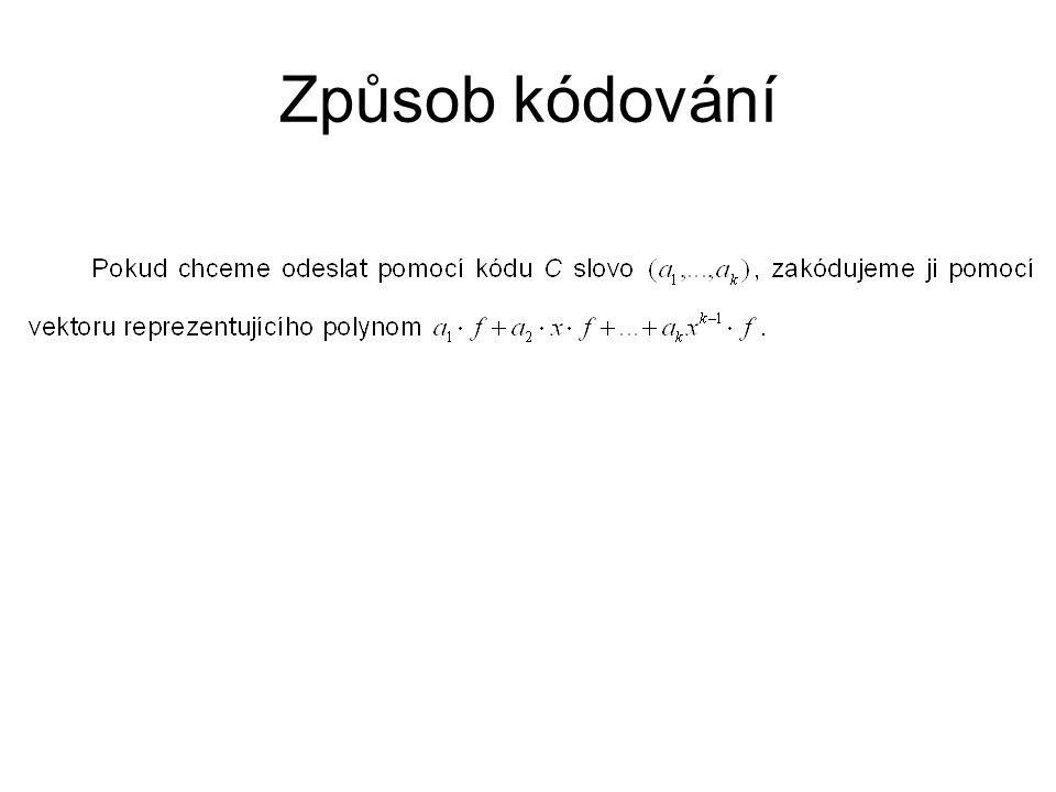 Způsob kódování