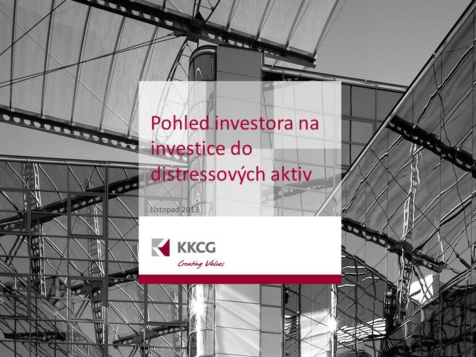 WWW.KKCG.EU OIL & GAS INDUSTRY FINANCE INVESTMENTS 1 Listopad 2013 Pohled investora na investice do distressových aktiv