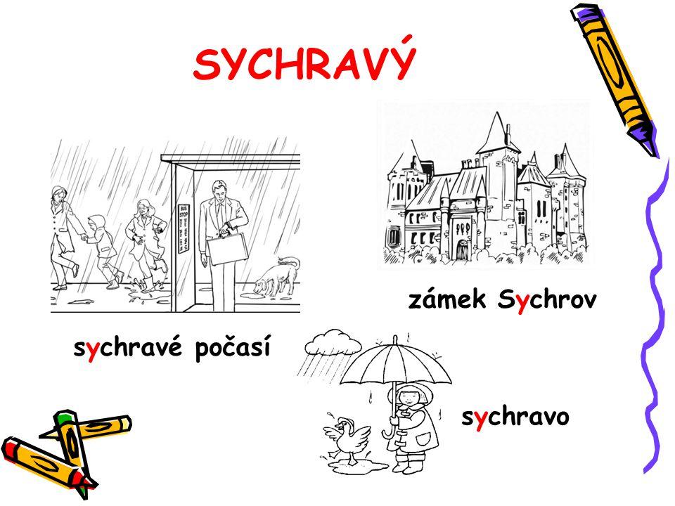 SYCHRAVÝ sychravé počasí zámek Sychrov sychravo