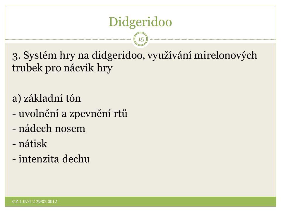 Didgeridoo 3.