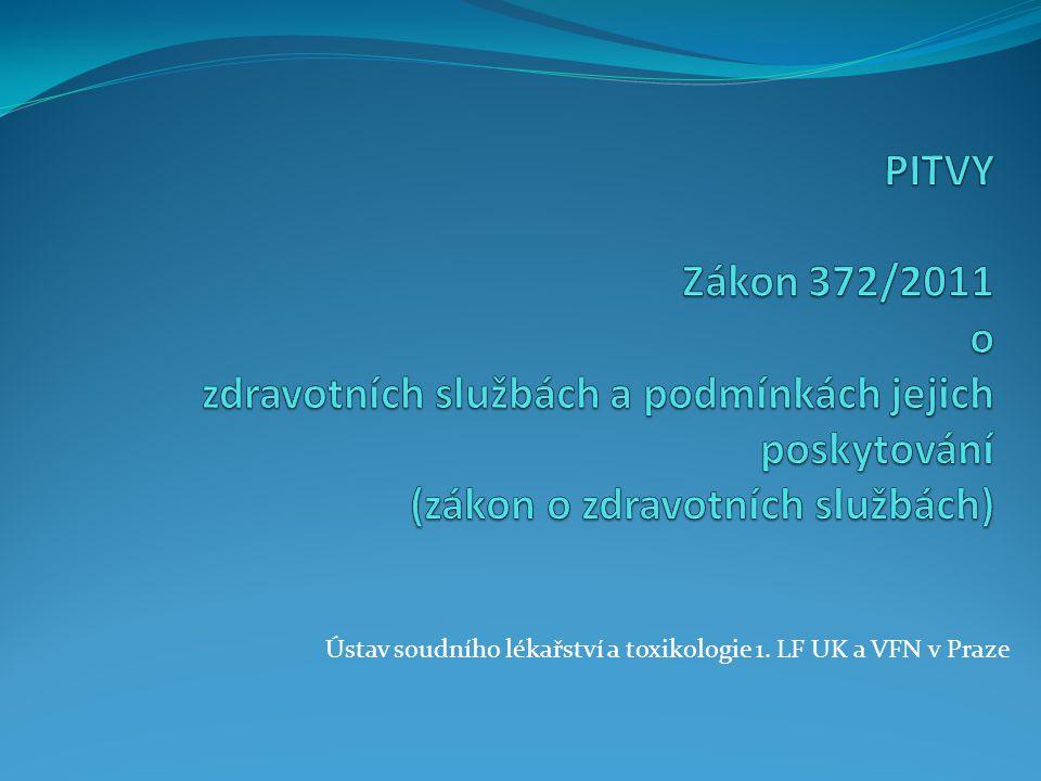 Základní rozdělení pitev § 88 – Pitvy jsou: Patologicko-anatomické Zdravotní Soudní Anatomické