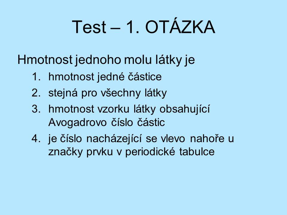 Test – 1.