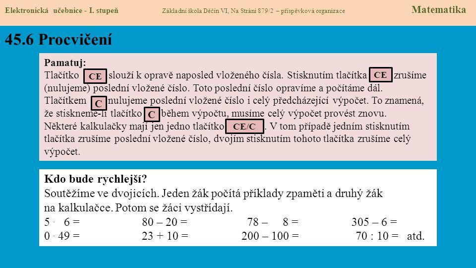 45.7 CLIL Elektronická učebnice - I.