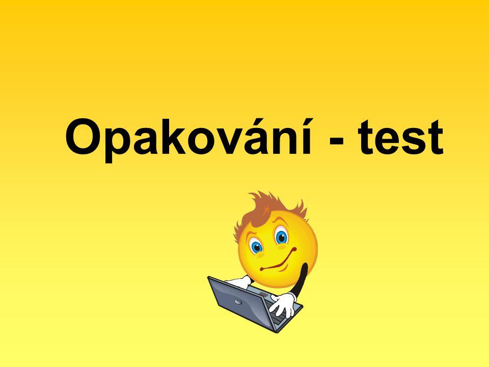 Opakování - test