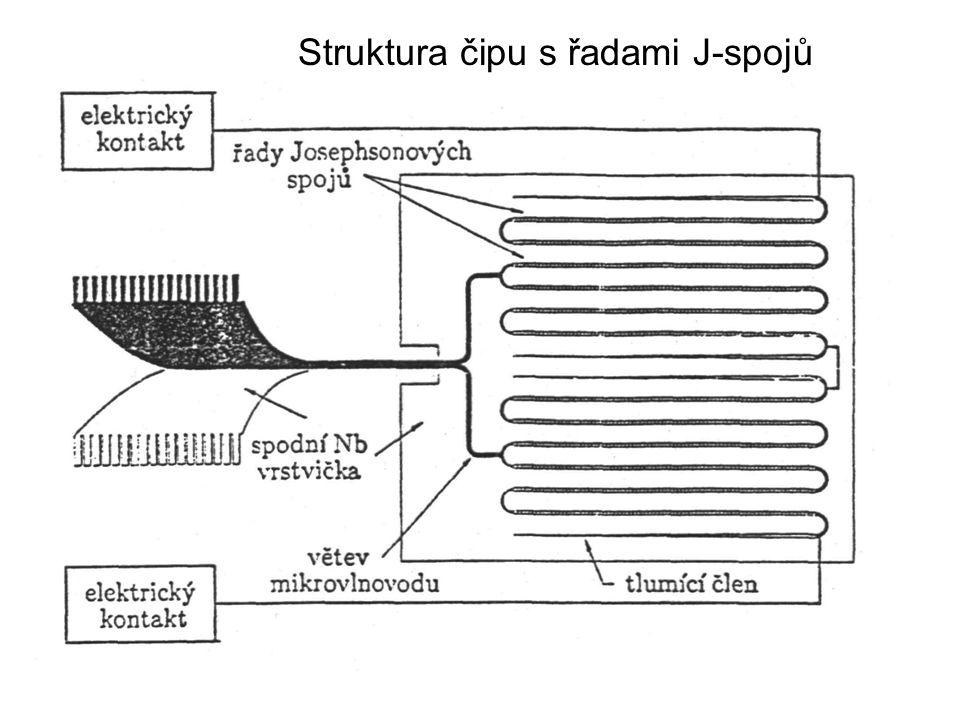 P14b26 Struktura čipu s řadami J-spojů
