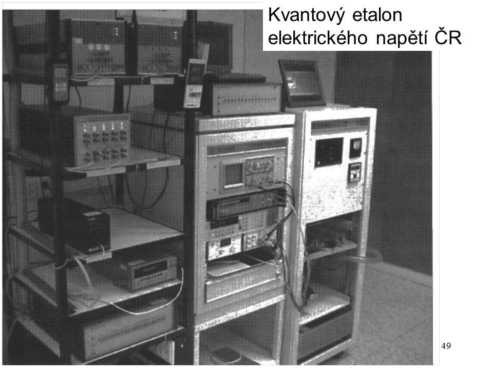 P14b49 Kvantový etalon elektrického napětí ČR