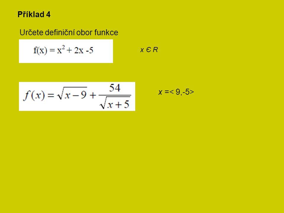 Je daná kvadratická funkce f: y = x 2 + 4x – 5.