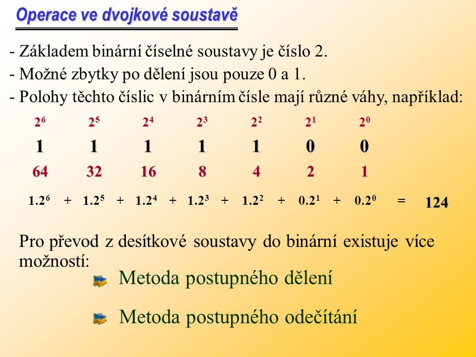 Pro určení počtu cifer při převodu z libovolné soustavy do jiné soustavy platí vztah: ab a - zdrojová soustavab - cílová soustava m a m a - počet cife