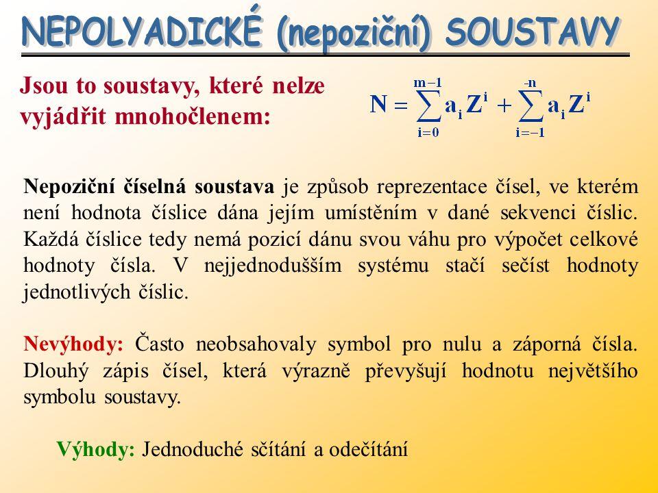 Převod mezi číselnými soustavami v prostředí Mathematica Převod mezi číselnými soustavami v prostředí Mathematica Převod z desítkové soustavy do jiné