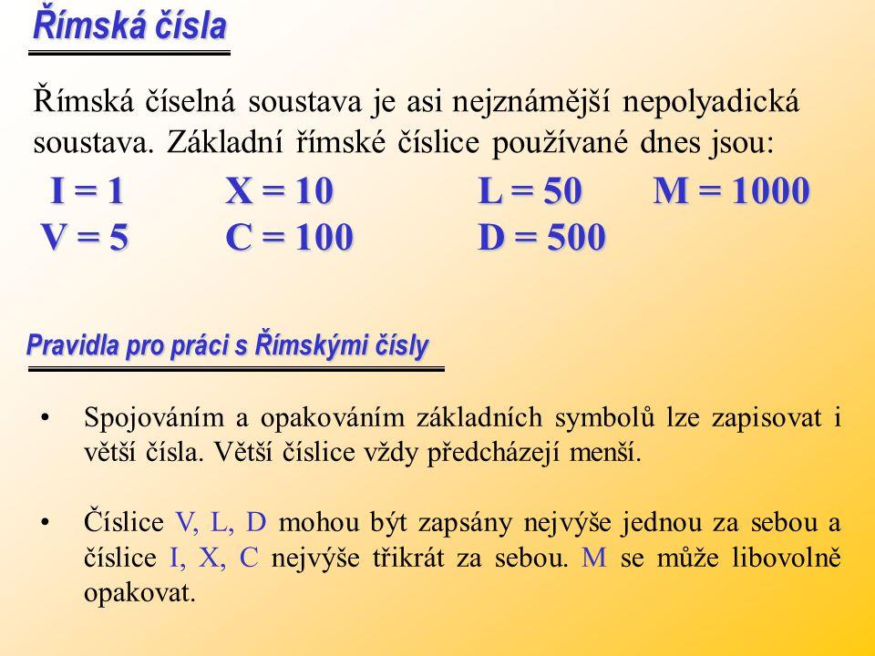 8 0 2 3 8 0 2 3 - 4 0 1 4 - 4 0 1 4 4 0 1 9 4 0 1 9 výsledek v dekadické soustavě, pomocí základů převedeme znovu do soustavy zbytk. tříd 0 : 2 = 0 zb