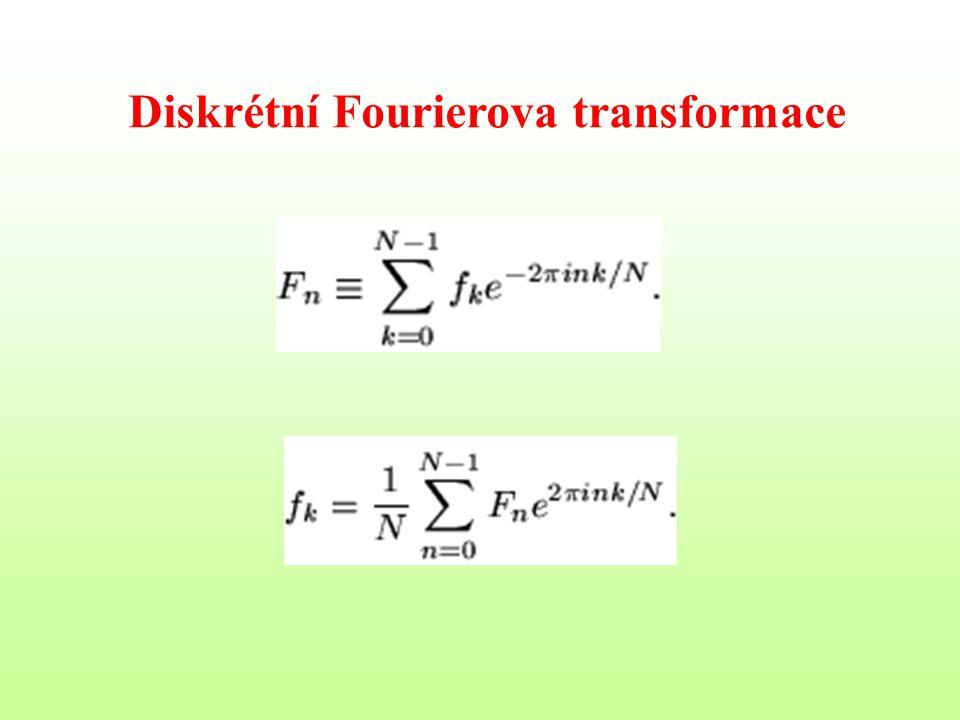 Diskrétní Fourierova transformace