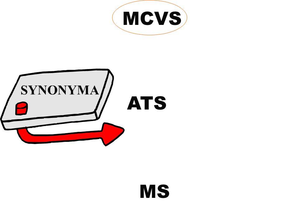 MCVS MS ATS SYNONYMA